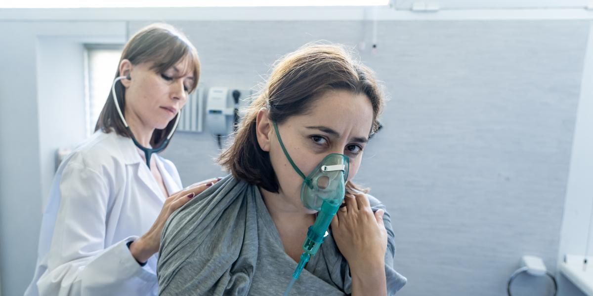 banner of Past Sufferers of Pneumonia Know How Awful It Can Feel