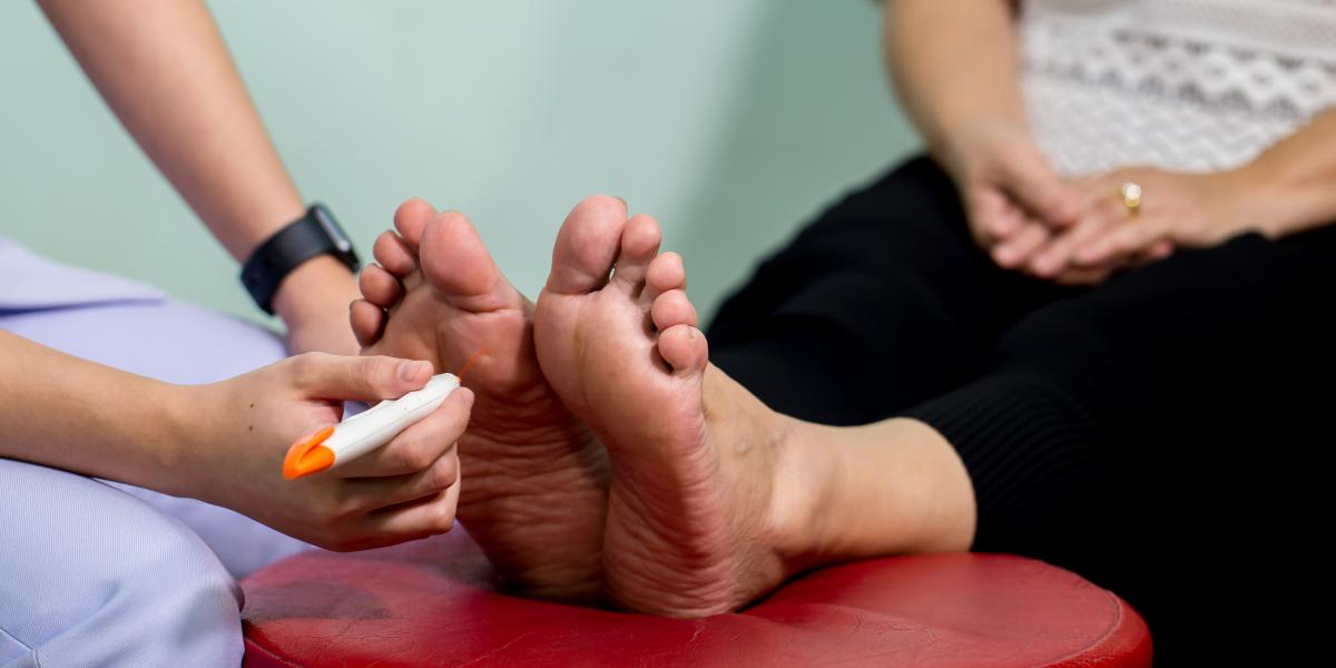 banner of Diabetic Neuropathy is a Type of Nerve Damage